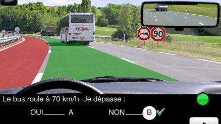 Appui gratuit de révision du code de la route